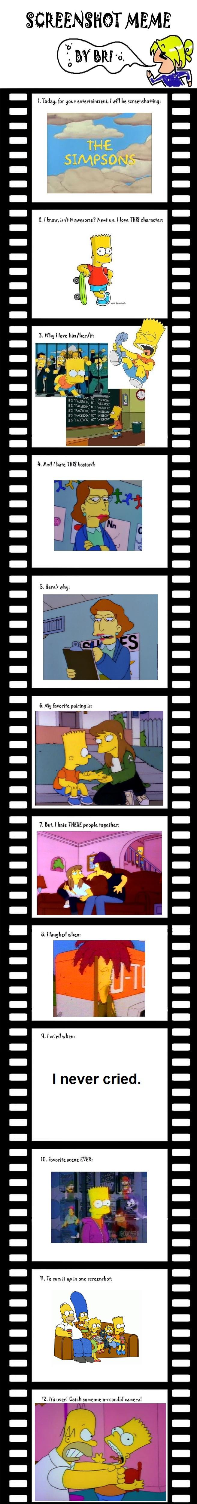 Simpsons Screenshot Meme by DarkDiddyKong