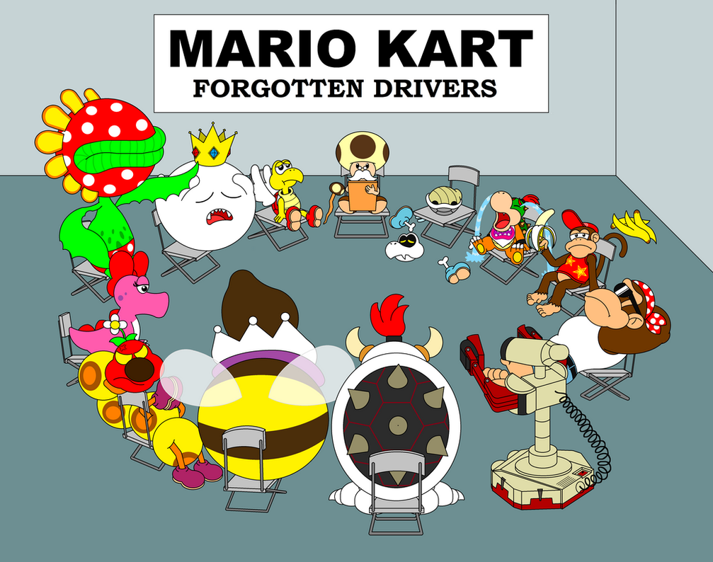 The Forgotten Drivers By DarkDiddyKong On DeviantArt
