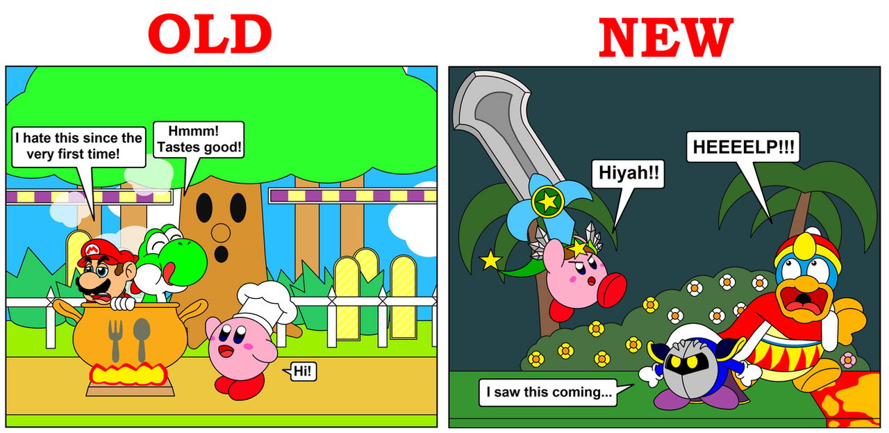 Kirby S Final Smash Old And New By Darkdiddykong On