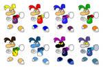 Rayman palette swap