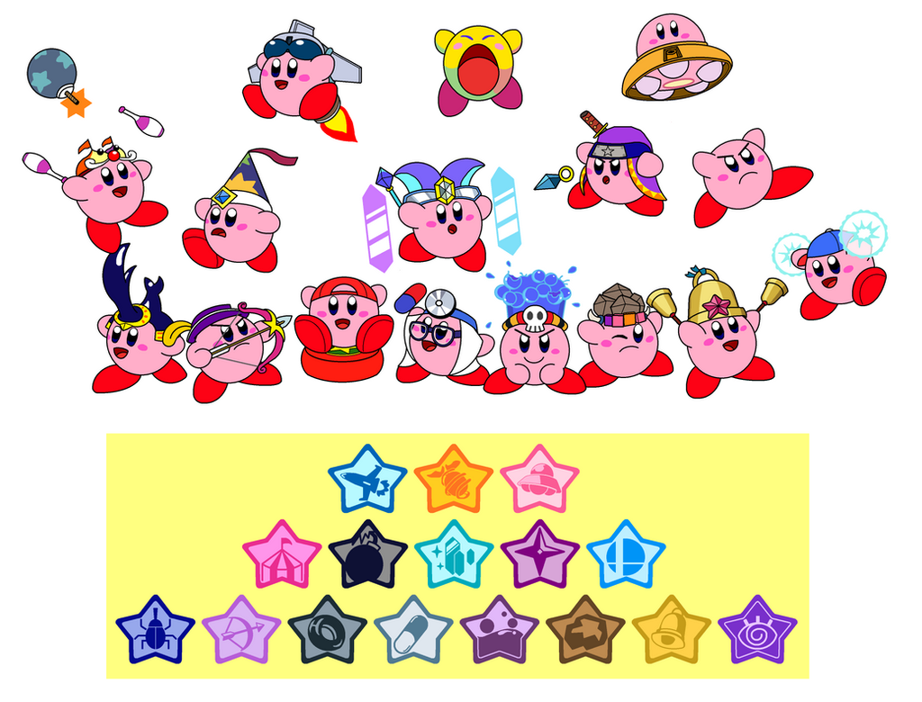 Kirby's abilities 4 by DarkDiddyKong on DeviantArt  Kirby's abi...