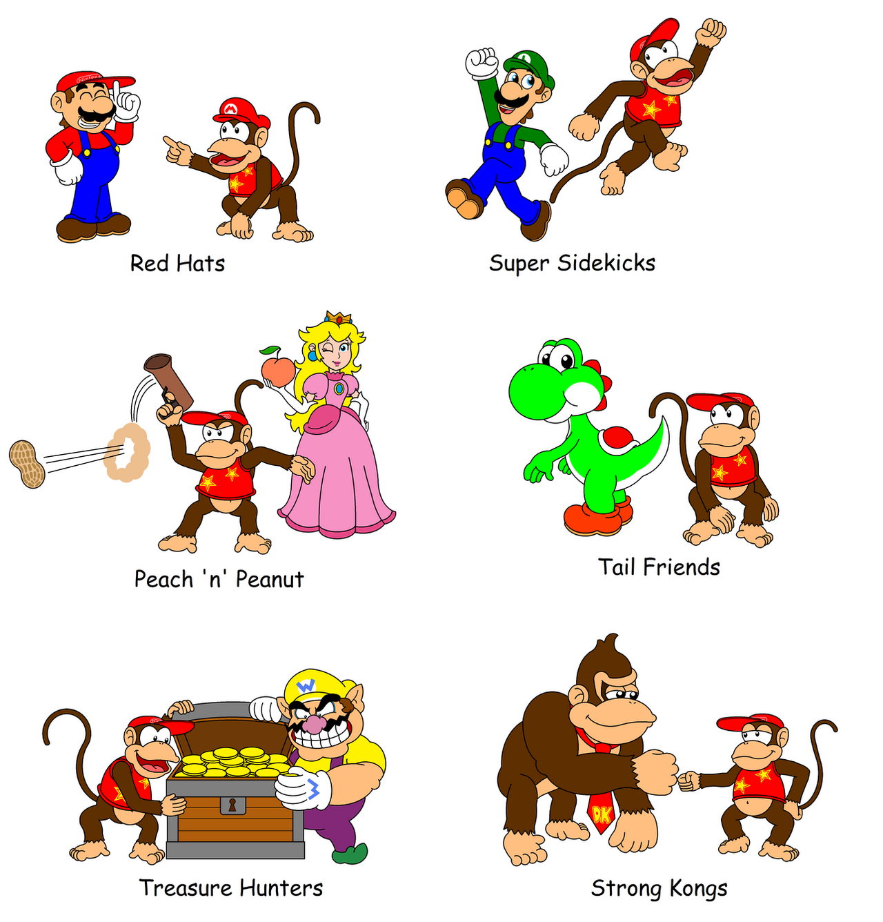 what is the relationship between donkey kong and diddy