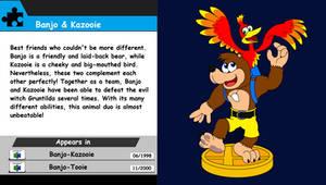 Banjo-Kazooie Trophy