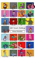 My ABC fanart challenge 3