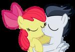 AppleBloom X Rumble first kiss