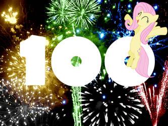 100 watchers! by RozyFly10