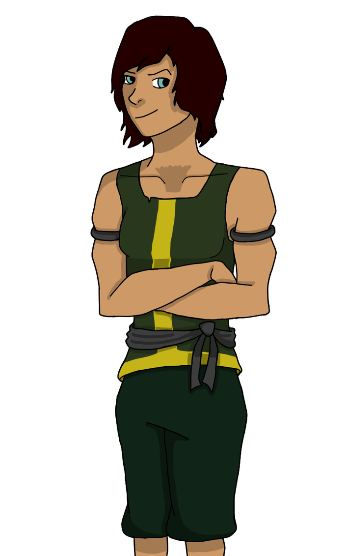Korra's New Outfit by divsalley