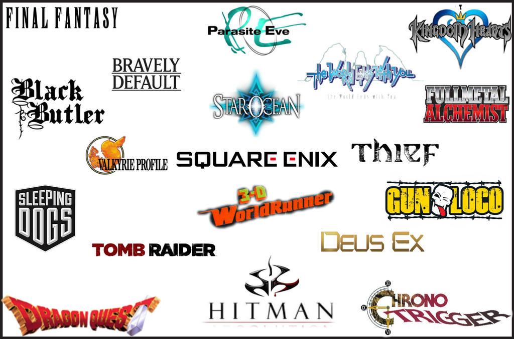 Square Enix Logo Wallpaper Thing By Vexenrandomdrawerguy On Deviantart