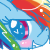 MLP Icons - Rainbow Dash by RainbowXShy