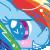 MLP Icons - Rainbow Dash by RainbowXShy