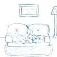 Commission Sketch redo