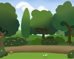MLP Forest Background by EmberfallPlush