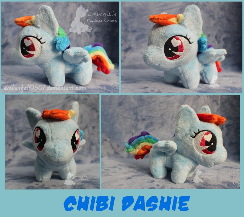 Chibi Dashie - Trotcon 2015 by Emberfall0507
