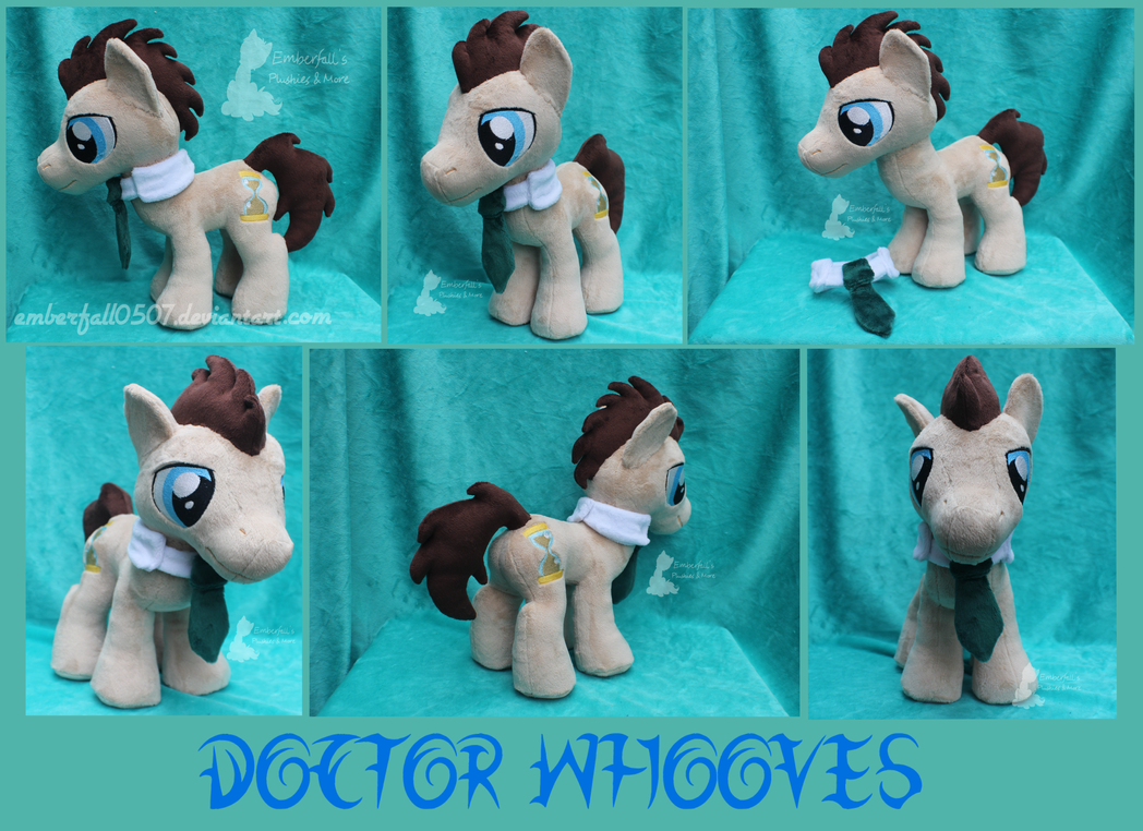 Doctor Whooves - Trotcon 2015 by Emberfall0507