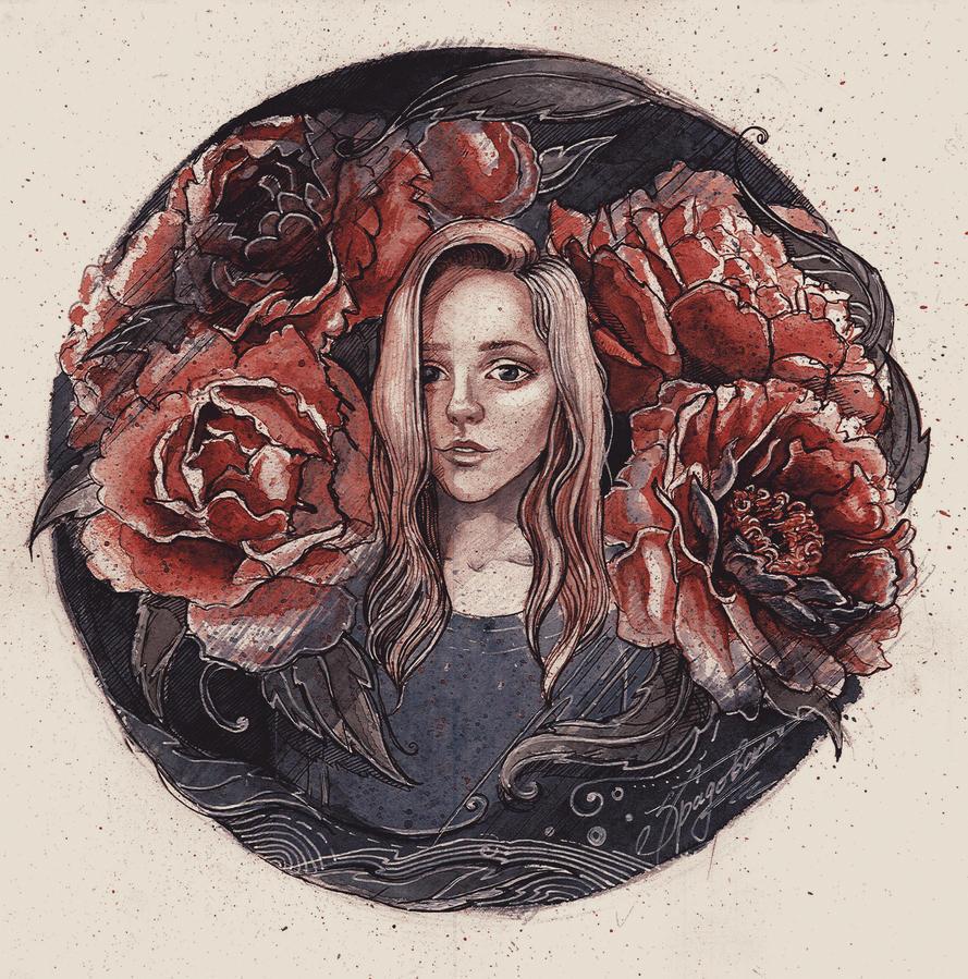 Roses by EmberRose95