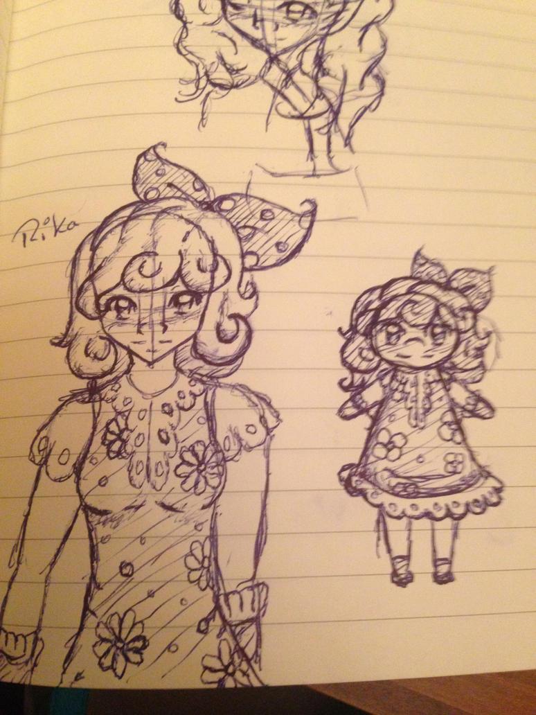 Random Flower Girl by Filicia-A-Lovelace