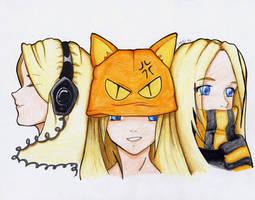 Hear, See, Speak no evil by laurel-chan