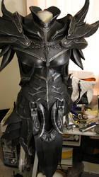Skyrim Daedric Armor WIP