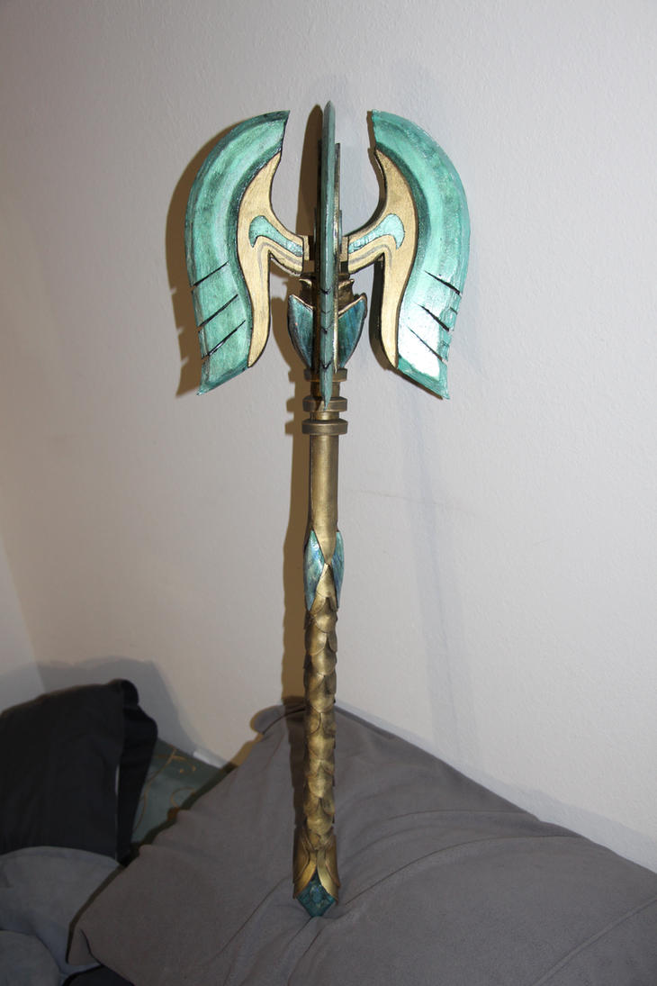 Skyrim Glass Mace weapon (complete) by lsomething