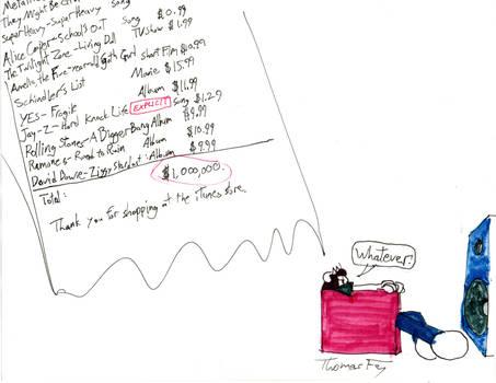Rammy's iTunes bill