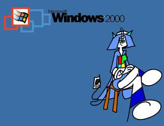 Windows 2000 tan by TFSyndicate