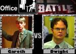 Office Battle: Gareth vs. Dwight by TFSyndicate