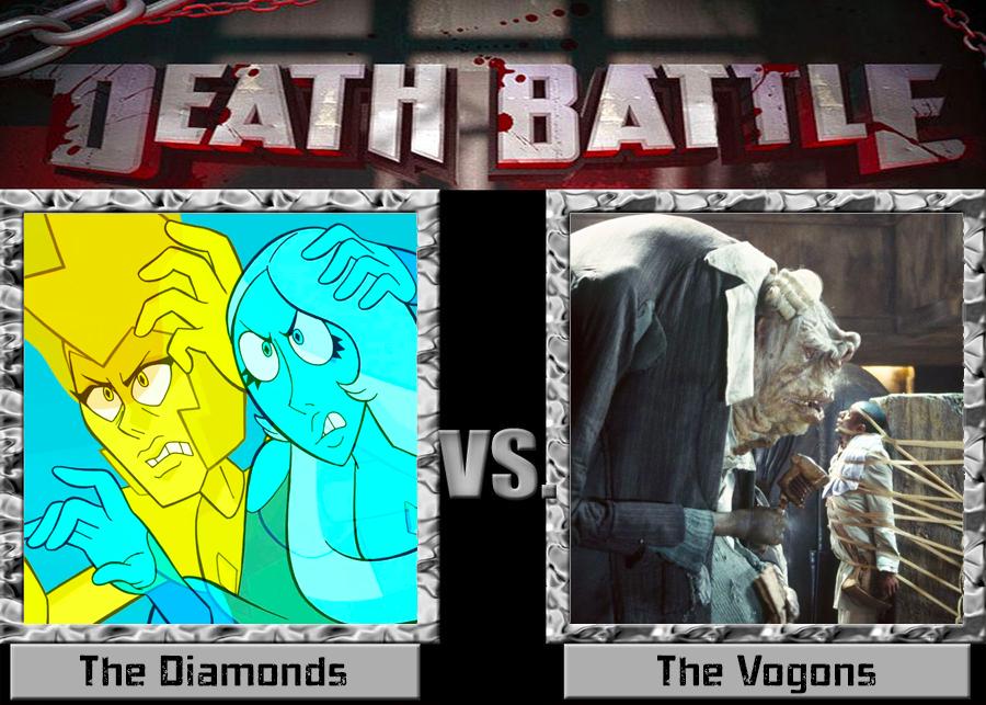 Death Battle: Diamonds vs Vogons (Towel Day '19) by TFSyndicate on