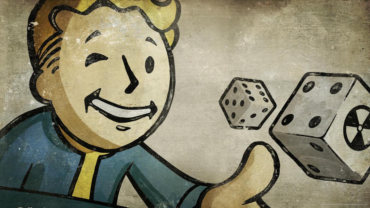 Fallout Vaultboy Gambling