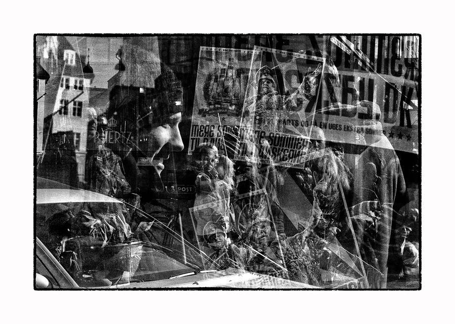 Street Scene - Copenhagen by thelizardking25