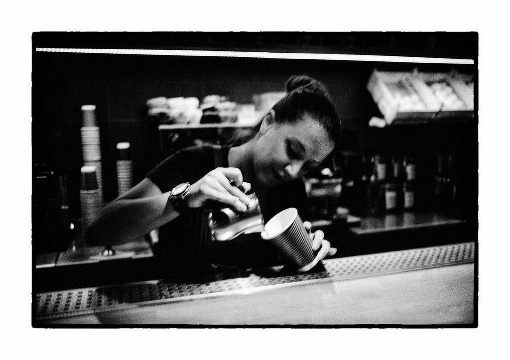 Coffee at midnight - Athens 2015 by thelizardking25