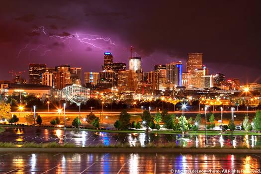 Downtown Denver Storm