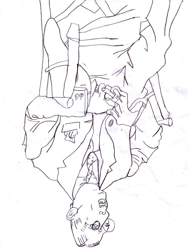 Line Draw 2 Igor Stravinsky Line Drawing