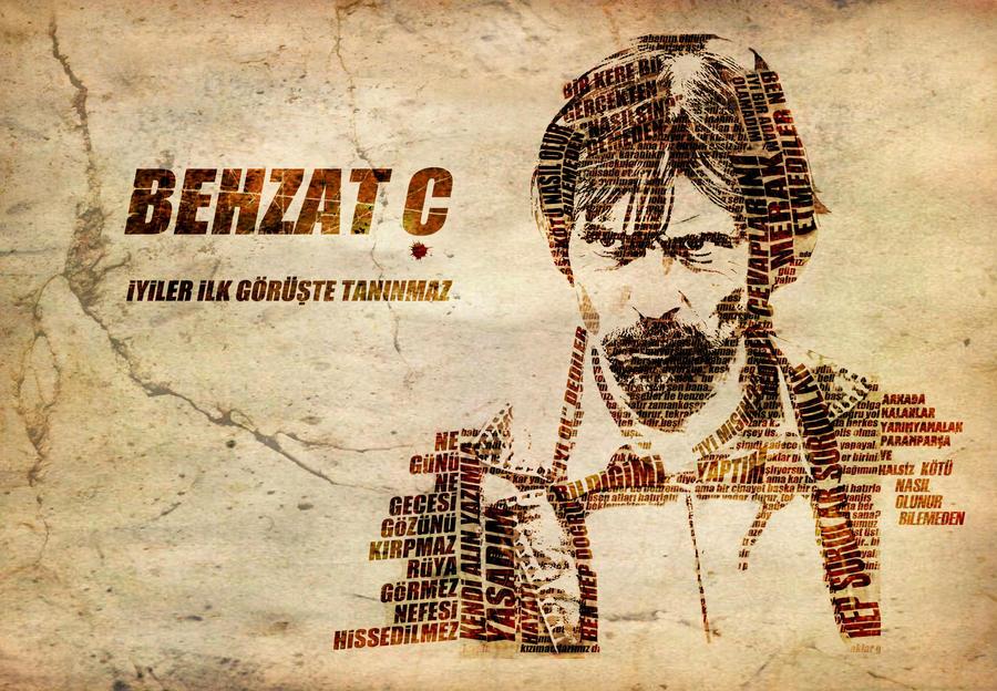 Behzat C -Tipografi