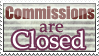 [STAMP] Commissions Closed by la-Liriell