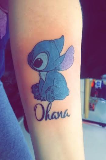 Stitch Tattoo by SkyBlue2013