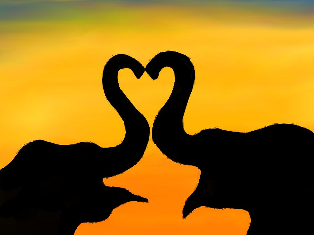 Elephant heart by poxantic on deviantart for Elephant heart trunk