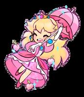 Princess Peach sticker by wishkoi