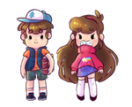 Mystery Twins Stickers