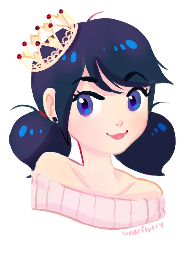 Princess Marinette by wishkoi