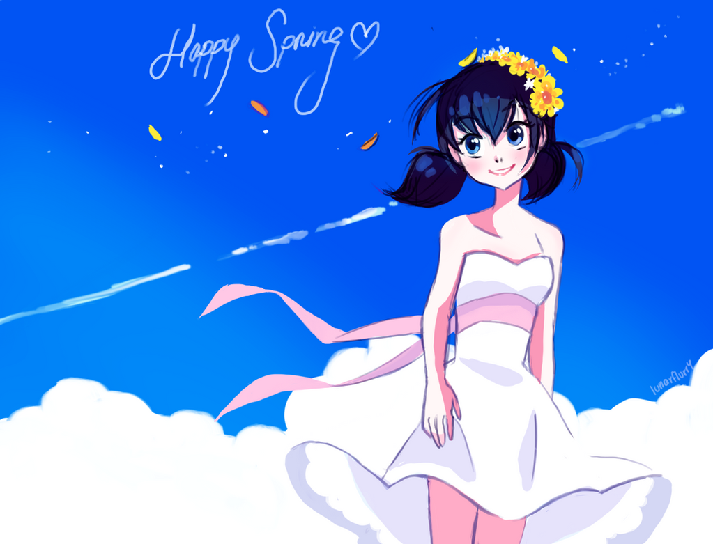 Happy Spring by wishkoi