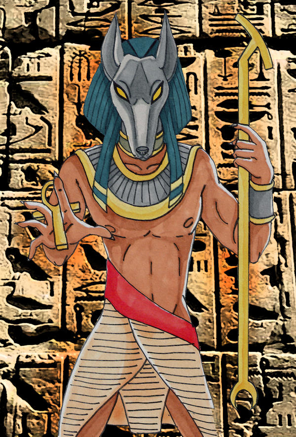 Anubis by Eyeless1703