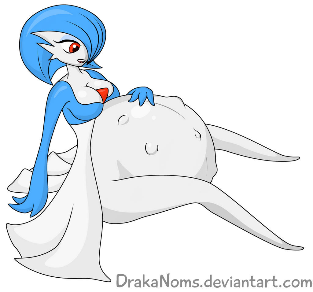 Shiny Preggo Gardevoir by DrakaNoms on DeviantArt