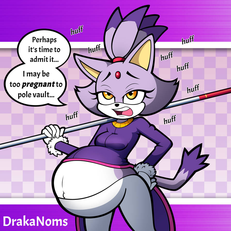 Pregnant Princess's Poor Pole Vault Performance