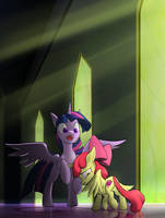 Request - ..Twilight, where do alicorns come from? by JAEneth