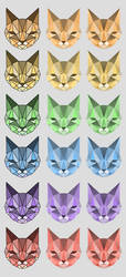 Vector cats by wani