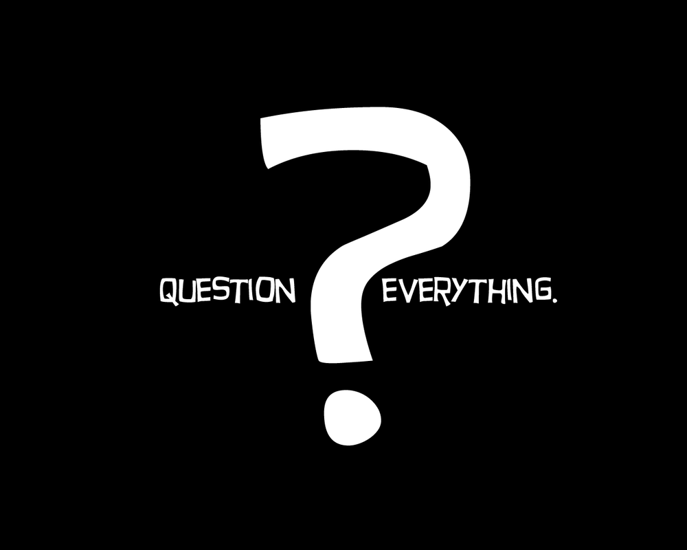 Question Everything by uzusan