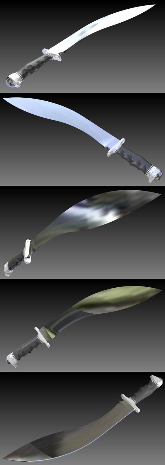 'The Talon' Giant Khukri