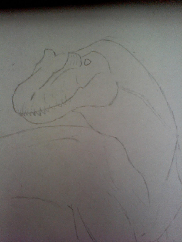 Allosaurus by BlackDragonBlood1355