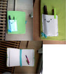 Handmade book by yliadinosaur