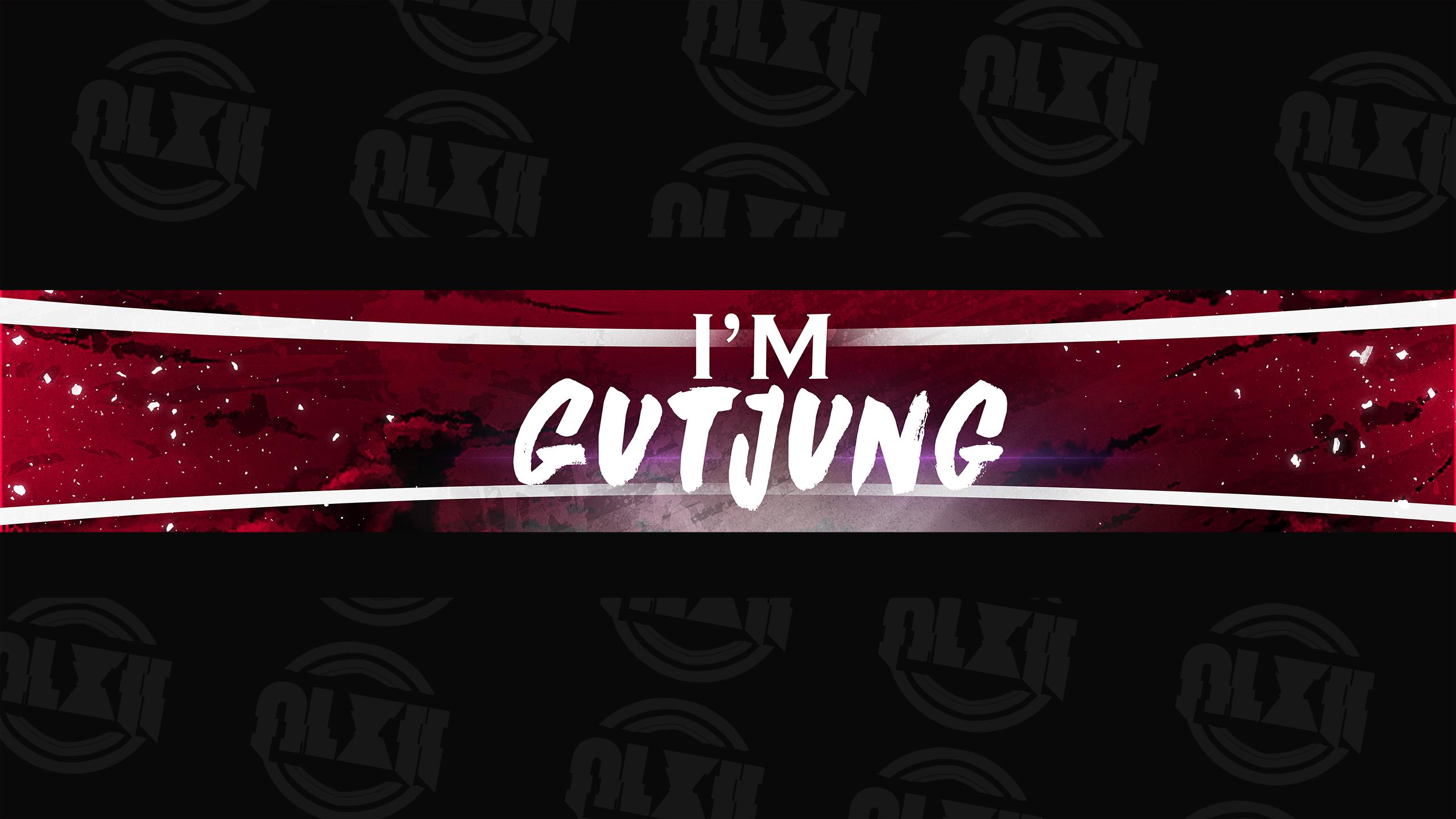 I'm GutJung Youtube Banner by AriCry on DeviantArt